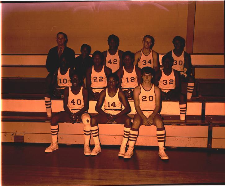 BHS Basketball 1971 0109 JV Boys Team - JC 1