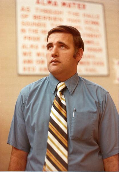 1970s BHS  Basketball - John Nix1