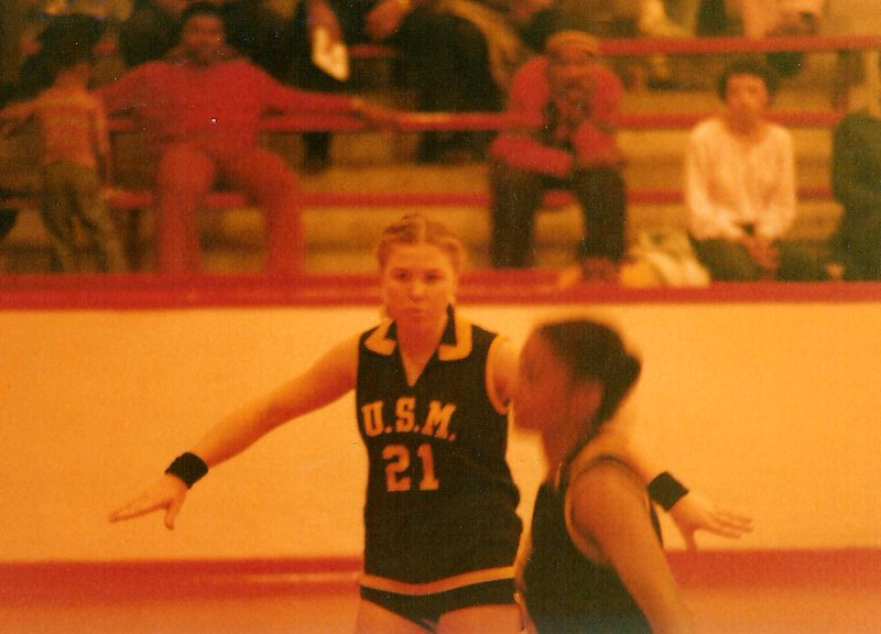 Kathy Griffin (21) While Playing for the University of Southern Mississippi