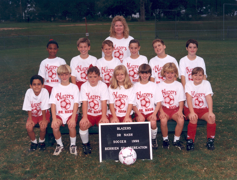 1998 Youth Soccer Blazers