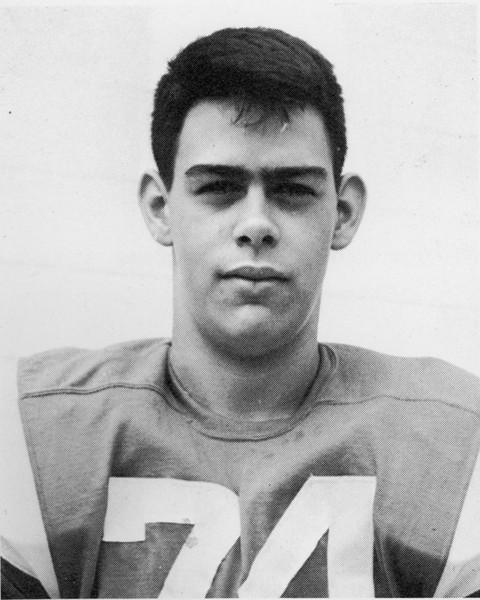 1963 BHS Football - Jim Navarro