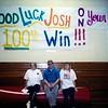 Josh Taylor - 100th Wrestling Win at BHS
