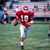 Jake Purvis carrying football in 1997 against Lanier County<br /> <br /> (photo by Gene Shearl)
