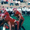 Jake Purvis (10) at line of scrimmage 1999<br /> <br /> (photo by Gene Shearl)