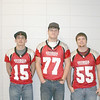 2010 Georgia-Florida Border War high school All-Star football game participants from Berrien High School:  Kirby Riley, Eric Exum, and Dustin Vickers<br /> <br /> Game was played Jan. 16, 2010 at Martin Stadium in Valdosta and was won by team Georgia