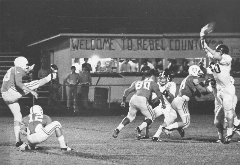 1971 Ware County Game - Forehand Kick