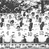 """BHS Varsity Football, Fall 1989, from 1990 Yearbook (2""""x5"""")"""