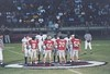 Berrien vs Cook Coin Toss<br /> Jesse McMillan, Clay Davis, Josh Moore, and Chris Hughes, captains