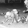 1992 BHS football -- Reggie Vinson (70) on the stop