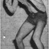 Weyman Vickers, boxer at South Georgia College in 1957