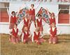 BHS Cheerleaders by FB dressing room