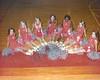1971-72 BHS Cheerleaders double exposure print