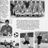 1998 BHS Soccer team page from the school yearbook.  This was the first year of soccer at BHS.