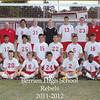 2012 BHS boys soccer team
