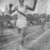 "Wesley Matthews - 3-time State Champion in the Mile Run<br /> <br /> (scanned from a photocopy of a newspaper article - original photo needed)<br /> <br /> Teams Associated With:	BHS football, BHS track, The Citadel football<br /> <br /> Awards/Highlights:	<br /> 1957 – State AA Champion in the mile run (4:50.4) … 3rd in All-Classifications meet in mile … Region 2-AA Champion in the mile run … set school record for longest fumble return touchdown (93 yards) against Jeff Davis … 1958 – State AA Champion in the mile run (4:44.8) … 3rd in All-Classifications meet in mile (4:421.5) … Region 2-AA Champion in the mile run … 1959 – State AA Champion in the mile run … Honorable Mention All-State Class AA high school football at quarterback … BHS football Outstanding Back award … set school record for longest punt return touchdown (90 yards) against Irwin County … signed scholarship to play football for The Citadel … 1960 – selected ""Most Athletic"" boy by senior class<br /> <br /> At The Citadel … played 73 consecutive quarters on offense and defense ... second leading pass receiver ... member of 1962 Southern Conference champions ... received ""Hundred Percenter"" award in 1964 ... lettered in 1963, 1964 at halfback"