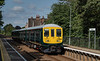 769959 on the North Downs Line at Chilworth, with 5Q10, the 09:15 Reading Traincare Depot - Reading Traincare Depot, via Gatwick Airport, on 11th August 2021.