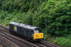 """50008 """"Thunderer"""" at Winchfield with 0M61, the 14:48 Eastleigh Arlington - Wembley, <br /> on 26th July 2021."""