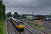 67027 top & tail with 67023 approaching Guildford Station with 1Q54, the 12:46 Eastleigh Arlington - Tonbridge West Yard Test Train, on 5th August 2021. <br /> It should be noted that it was raining at the time, but the prospect of 67s, instead of the usual 73/9s on this working was well worth it.