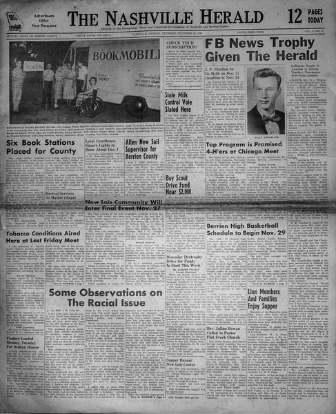 The Nashville Herald_1956-11-22_V L No 46_p1_