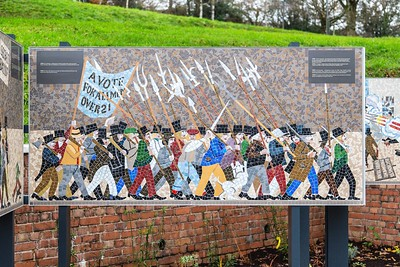 Chartist Commemorative Mural