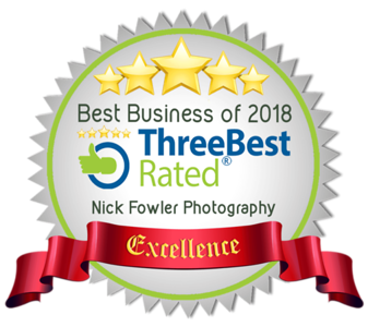 3 Best Rated Businesses 2018 | Nick Fowler Photography