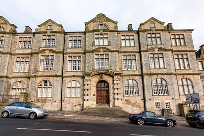 Shire Hall Apartments at Pentonville, Gold Tops,  Newport. 1