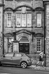 Queens Chambers Apartments Gold Tops Newport B&W
