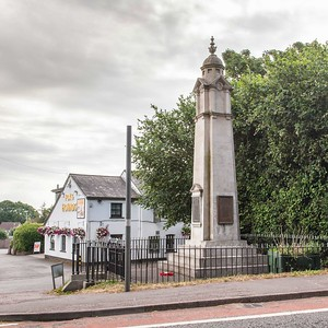 Old St Mellons War Memorial 2