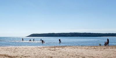 Three Cliffs Bay Beach