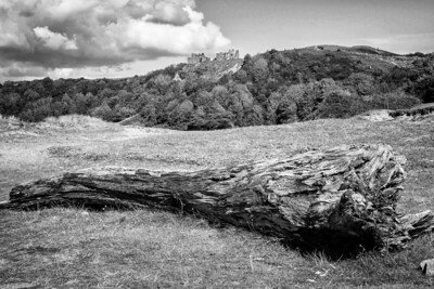 Three Cliffs Bay, Pennard Castle ruins