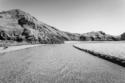 Three Cliffs Bay, Pennard Pill stream