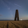 ISS Pass over the Daymark Tower, Kingswear, South Devon