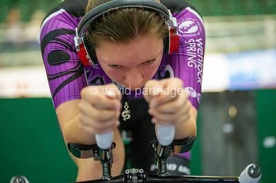 British National Youth and Junior Track Championships 2019. 2000m Pursuit Championship - Female  U16, Newport Velodrome