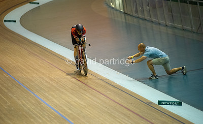British National Youth and Junior Track Championships 2019. The Carlton Cup - Male U16 2000m Pursuit Championship, Newport Velodrome