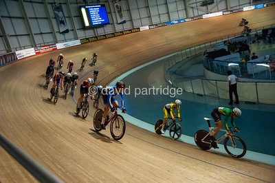 British National Youth and Junior Track Championships 2019. Junior Scratch Race Trophy - Male Junior 20kms Scratch Race Championship, Newport Velodrome
