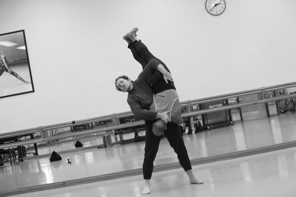 Rehearsal of 'Soudain, l'hiver dernier'