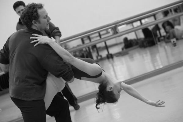 Rehearsal of Three Kisses