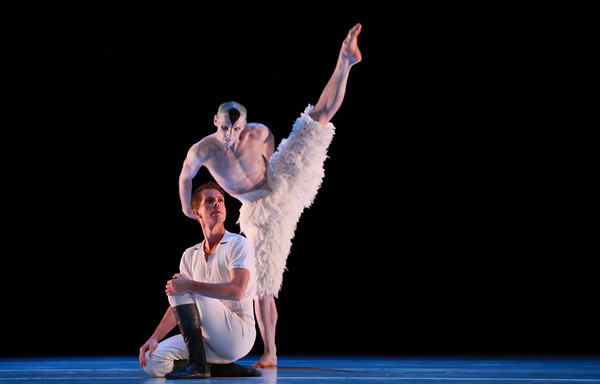 White Swan pas de deux from Swan Lake - Domenico Luciano (swan) & Dominic Walsh