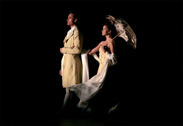 Amy Fote and Nicholas Leschke in THE FOUR SEASONS