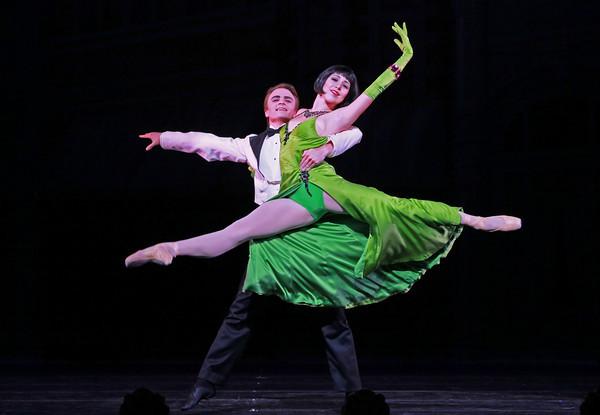 Jessica Collado and Peter Franc