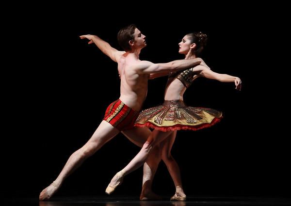 Ian Casady and Lauren Ciobanu