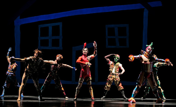Artists of the Houston Ballet in the Doll's House