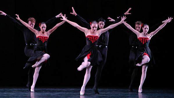 Artists of Houston Ballet  in Five Tangos