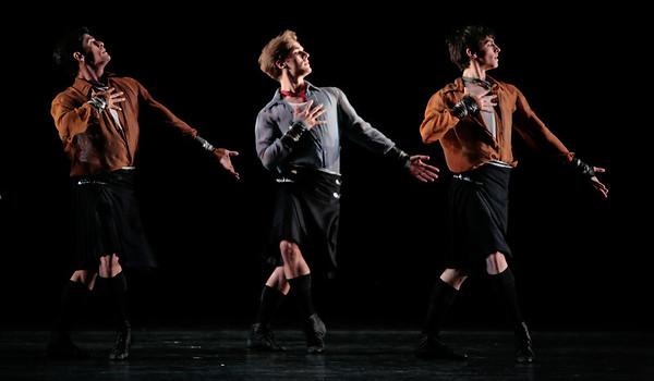 Randy Herrera, Jonathan Davidsson, and Joseph Walsh in Little Dancer