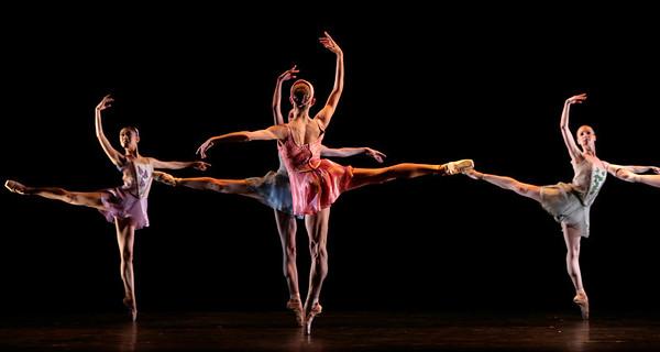 Artists of Houston Ballet in Falling