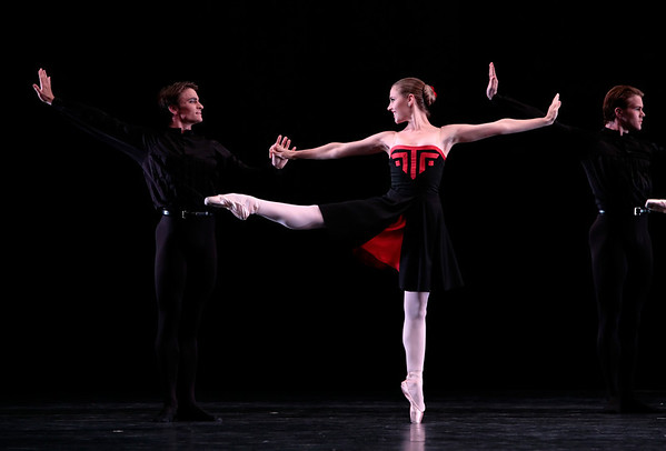 Peter Franc and Aria Alekzander in Five Tangos