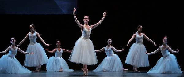 Artists of Houston Ballet in The Ladies by Stanton Welch