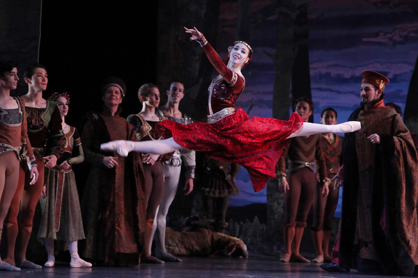 Jaquel Andrews and Artists of Houston Ballet