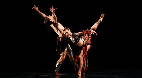 Simon Ball and Jessica Collado