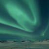 Myvatn Aurora over the Skútustaðagígar Pseudocraters  - 3